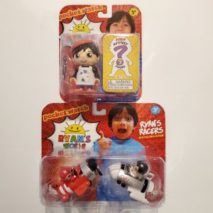 Ryan's World 2 pk Painter and Mystery toy w/ 2pk Ryan's Racers for Sale in Las Vegas, NV