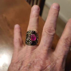 925 oxidized silver ring for Sale in Arnold, MO