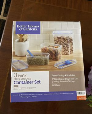 3 pack food storage container set for Sale in Santa Ana, CA