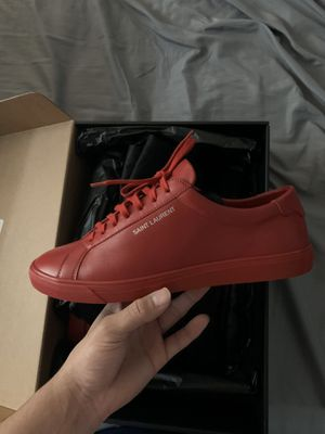 Saint Laurent sneakers only used once for Sale in Lomita, CA