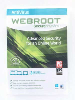 WebRoot Secure Anywhere Software Advanced Security for Sale in Tampa, FL