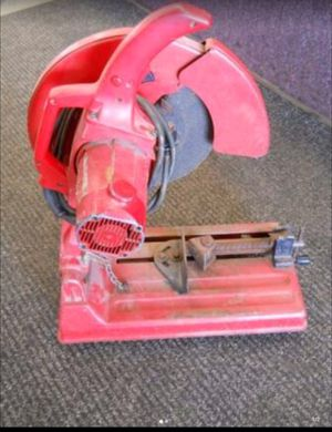 """MILWAUKEE 14"""" CUT-OFF ABRASIVE CHOP SAW for Sale in Columbus, OH"""