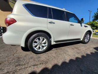 QTY (4) INFINITI QX80 OEM 275/60/R20 ALUMINUM WHEELS & TIRES for Sale in Chino,  CA