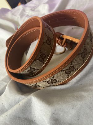 Gucci belt no scammer plz PayPal or Apple Pay only also u may pay on offer up for Sale in NORTH DINWIDDIE, VA