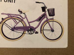 "Huffy 24"" Nel Lusso Girls' Cruiser Bike, PURPLE for Sale in Portland, OR"