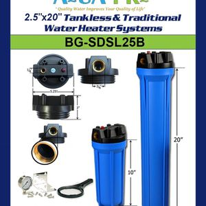"2.5""x20"" Tankless & Traditional Water Heater Systems SKU: BG-SDSL25B for Sale in La Habra, CA"