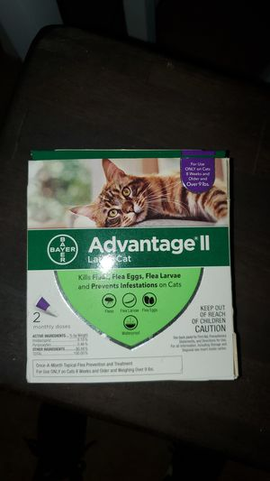 Advantage II for large cats over 9lbs. for Sale in Lemon Grove, CA