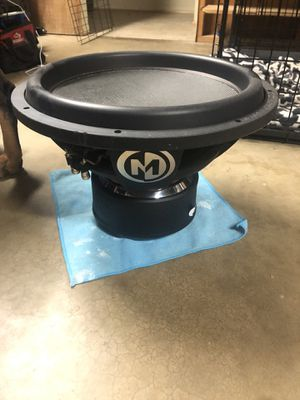 """Memphis Mojo 15"""" Subs for Sale in Walkersville, MD"""