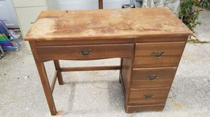 Small wooden Desk made in Italy for Sale in TEMPLE TERR, FL