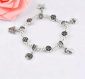 Silver Charmed Stretchy Band Bracelet for Sale in Atlanta, GA