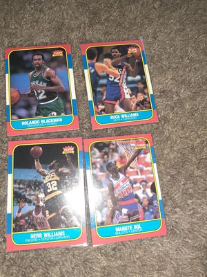 86 fleer rookie cards for Sale in Raleigh, NC