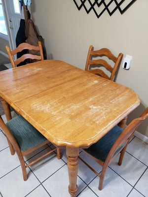 Kitchen table and chairs for Sale in Highland, IN