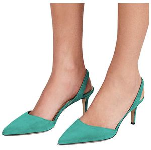 YDN Womens Kitten Low Heels Office Pumps Pointed for Sale in Temple City, CA