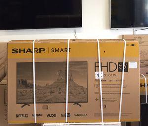 55 INCH SHARP ULTRA 4K SMART TV for Sale in Chino, CA