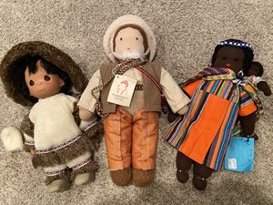 Dolls from Around the World-Africa, Peru, Precious Moments for Sale in Corona, CA