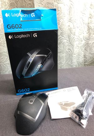 Logitech G602 Wireless Gaming Mouse w/ original box and manual ~ Asking $30 for Sale in Naugatuck, CT