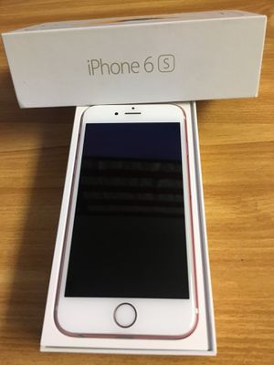 iPhone 6s 16 gig-Rose Gold-Boost Mobile-Plus a 10 foot iPhone Charger Included for Sale in Wilmington, DE