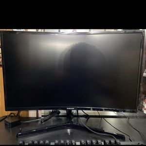 Samsung curved monitor , Logitech Keyboard for Sale in Dallas, TX
