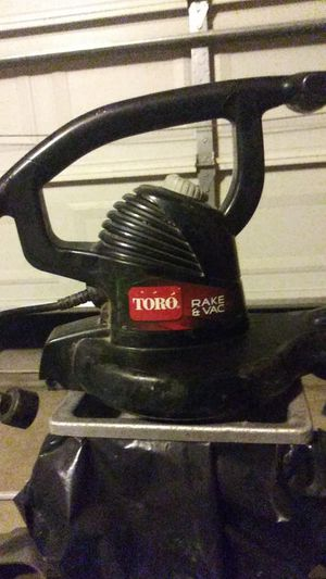 Toro, (Electric, Leaf Blower) Rake&Vac for Sale in Stockton, CA