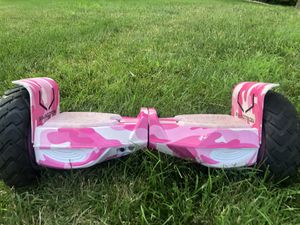 GREAT CONDITION! Swagtron T6 Outlaw Bluetooth Hover Board w/ Brand New Charger for Sale in Overland Park, KS