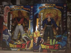 Dragon Ball Z Movie Collection Action Figures Collectables- Future Trunks & Super Buu for Sale in Fresno, CA