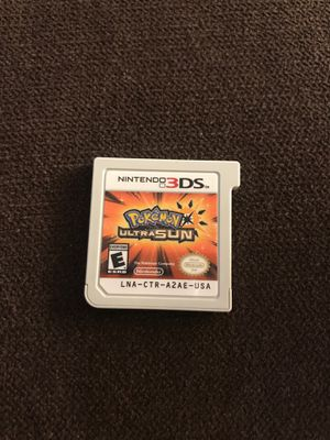 Pokémon ultra sun game for Sale in Covina, CA