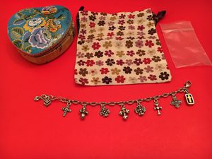 """NEW Brighton """"Eternity"""" Cross Charm Bracelet Jewelry Saturday Pick Up BUY MORE SAVE MORE for Sale in Arlington, TX"""