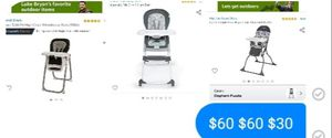 Baby highchairs for Sale in Irving, TX