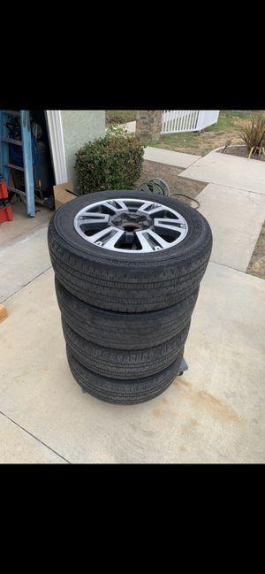 Toyota tundra 20 inch Rims for Sale in Tustin, CA