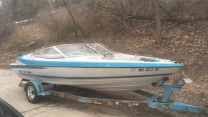 Excel sx18 18ft boat and trailer for Sale in Lake in the Hills, IL