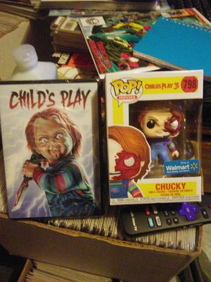 Chucky 1 on DVD / child's play3 Pop 798 for Sale in Amory, MS