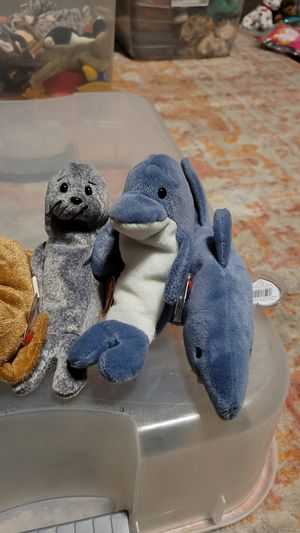 Sealife Beanie Baby Lot for Sale in Denton, TX