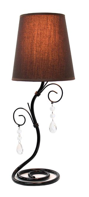 Table lamp with Hanging crystal for Sale in Chevy Chase, DC