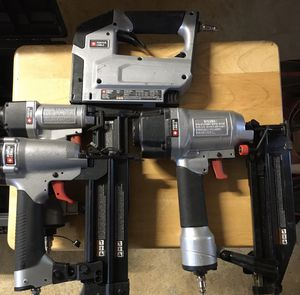 Porter & Cable Nailers for Sale in Fairfield, CT