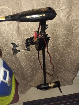36lb electric trolling motor works great for Sale in Mount Clemens, MI
