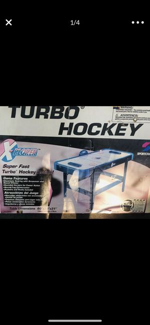 Air Hockey Table. Never Been Out The box for Sale in Safety Harbor, FL
