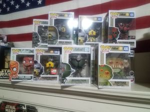 Pops and Star Wars for Sale in Waterbury, CT