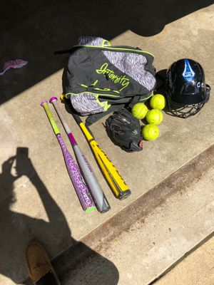 Softball equipment for Sale in Greenwood, IN