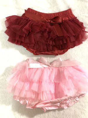 1-3yrs ruffled diaper cover $10 each for Sale in Chula Vista, CA
