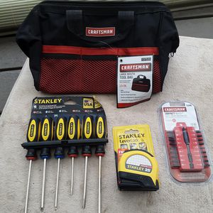 Craftsman Tool Bag + Tools for Sale in Dundee, OR