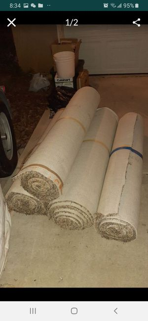 Carpet only 2 months old$50 for all for Sale in Winchester, CA