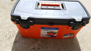 Plastic light weight tool box for Sale in Orlando, FL