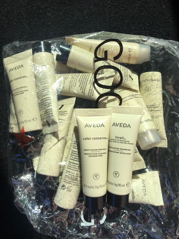 Aveda hair care products