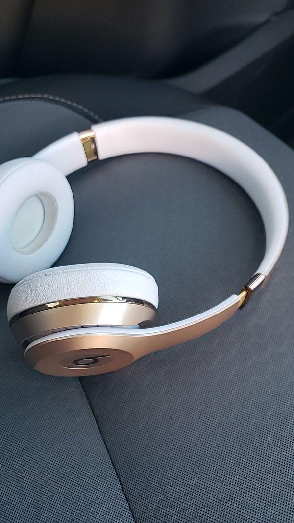 Headphones made by beats