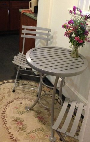 Bistro set, table and chairs for Sale in Baltimore, MD