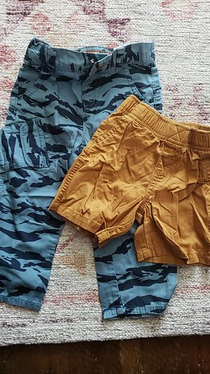 Lee Relaxed Straight Leg Camo pants (18 Months) and shorts (2T) for Sale in Daly City, CA