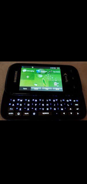 Samsung Trender Sapphire keyboard phone for Sale in San Jacinto, CA