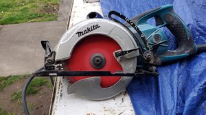 Makita 7¼ worm drive circular saw for Sale in Portland, OR