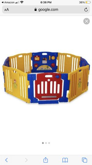 Play pin for kids works perfectly 8 panels no missing pieces for Sale in Anaheim, CA