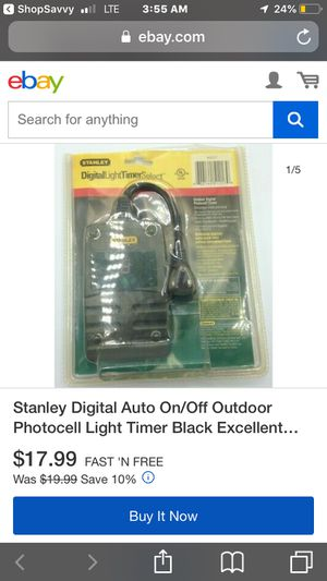 Light timer for Sale in San Francisco, CA